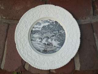 Ludlow Castle & Dinham Bridge Collectible Dinner Plate Royal Cauldon
