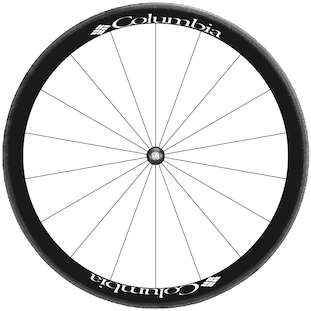 Bike Rim Decal Sticker Kit for Complete Wheelset