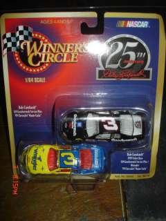 DALE EARNHARDT #3 164 SCALE 25TH ANNIVERSARY CAR SET