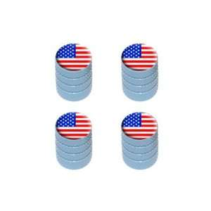 USA American Flag   United States Tire Rim Valve Stem Caps