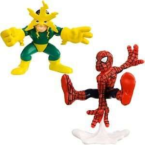 Hero Squad    Spider Man and Electro Action Figures Toys & Games