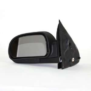 02 10 CHEVY CHEVROLET TRAILBLAZER MANUAL BLK MIRROR LEFT