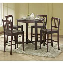 Forenza Solid Wood 5 piece Pub Table Set