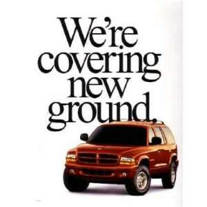 1999 DODGE DURANGO Sales Brochure Literature Book