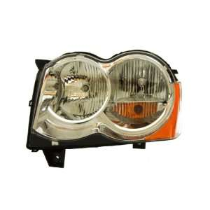 OE Replacement Jeep Cherokee/Wagoneer Driver Side Headlight Lens