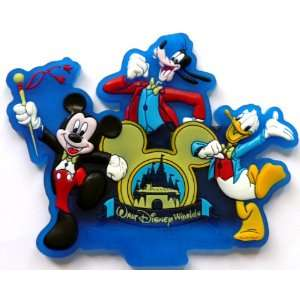 Walt Disney World ~ Fridge Magnet ~ Refrigerator Magnet ~ Mickey Goofy