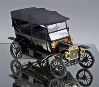 Franklin Mint Die cast car 1913 Ford Model T Touring Car 116