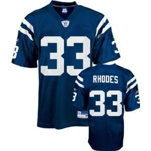 Dominic Rhodes Blue Reebok NFL Indianapolis Colts Kids 4 7