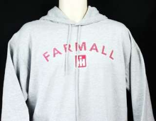 FARMALL International Harvester Gray Logo Sweatshirt Pullover Adult