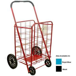 NEW Extra Large Heavy Duty Folding Shopping Cart