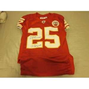 2010 Kansas City Chiefs Game Used Jersey Jamaal Charles