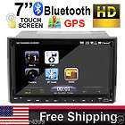 HD Double Din 7 Car DVD Player GPS SAT NAV Device PIP Ipod TV Radio