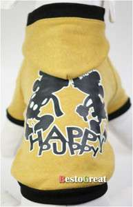 Pet Dog Puppy apparel cloth Coat S M L XL XXL PA2 12