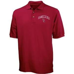 South Carolina Gamecocks Garnet Pique Polo