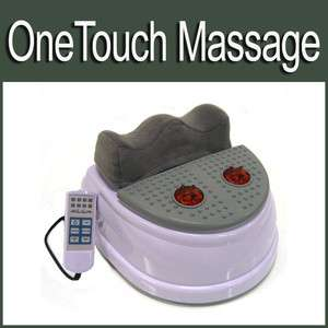 Machine w/ Infrared Vibrating Foot Massage Plate Free Ship 4W