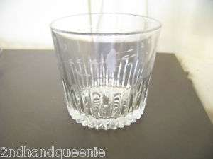 Vintage Princess House Etched Glass Ice Bucket Crystal