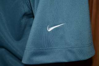 NIKE FIT DRY LIGHT BLUE GOLF POLO SHIRT MENS XXL NWOT