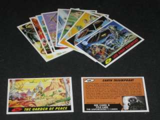 MARS ATTACKS   COMPLETE 100 TRADING CARDS   TOPPS SET◆