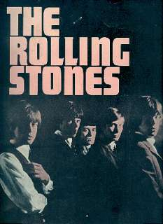 ROLLING STONES 1964 1st U.S. TOUR CONCERT PROGRAM BOOK