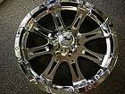 20 Inch Raceline Raptor Chrome Wheels GMC Sierra 1500, Yukon Denali XL