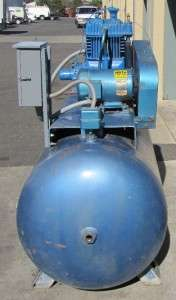 Quincy 5 hp Air Compressor 250 Gallon Tank 230V 3 Phase