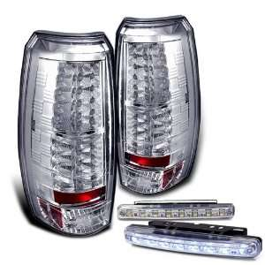 Eautolights 07 11 Chevy Avalanche LED Tail Lights + LED