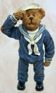 BOYDS BEARS Airman McBruin RESIN Military USA 3252