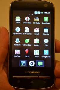 Lenovo A60 Android 2.3 Dual SIM Card Smart Phone 3.5 Dual Camera