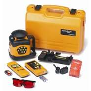 Acculine Pro Automatic Leveling Rotary Laser Level w/Integral Mount w