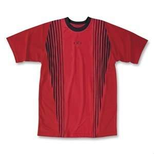 Xara Womens Reading Soccer Jersey (Red/Blk) Sports