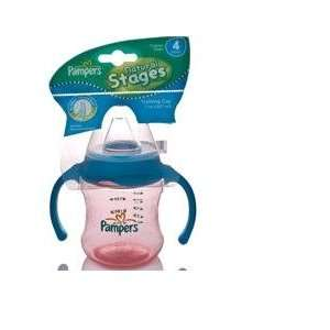 PAMPERS TRAINING CUP STAGE 4 , PINK/BLUE Baby