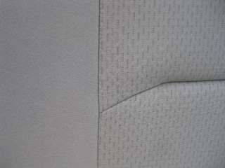 08 12 Ford Econoline Van 2nd Row 3 Passenger Gray Cloth Bench Seat