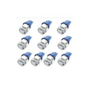 10x 194 168 2825 5 smd High Power BLUE LED Car Lights Bulb By Comfort