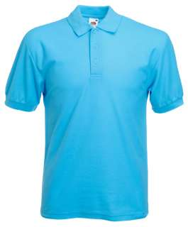 Fruit of the Loom Pique Polo Shirt 65/35 Gr. S   XXL