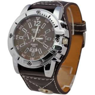 New Arrive Super Big Round Face Boys Mens Luxury Casual Wrist Watch