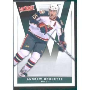 2010/11 Upper Deck Victory Hockey # 92 Andrew Brunette