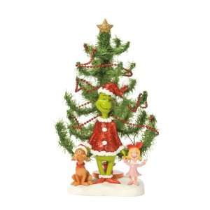 Department 56 Grinch Christmas Tree Figurine