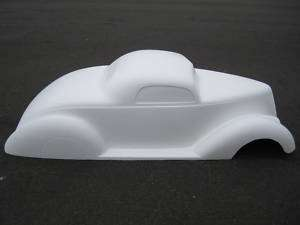 pedal car hot rod stroller 1/4 scale fiberglass body rat rod