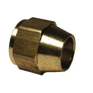 Watts 1/4 in. Brass Short Rod Flare Nut A 60