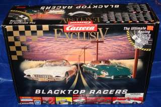Carrera Exclusiv 124 Scale Slot Car Racing Track Set #20330 Box