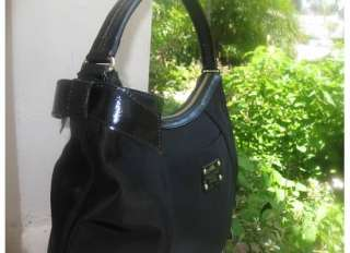 NEW Kate Spade Black Lawrenceville Lori Nylon Hobo NWT