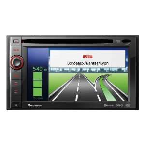 Pioneer AVIC F930BT   Navigationssystem mit DVD Player, LCD Monitor