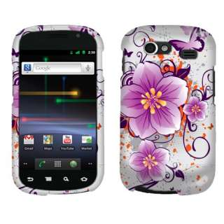 Butterfly 2D Protector Hard Case Cover Samsung Nexus S Galaxy 2 i9020