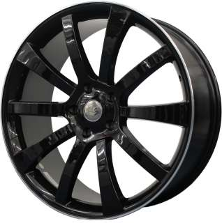 new 22 riva suv alloy wheels finished in black edge