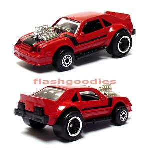 Matchbox Ford MUSTANG Red Body Die cast Model LOOSE