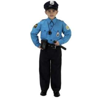Jr. Police Officer Suit Child Costume, 34048