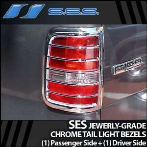2004 2008 Ford F150 SES Chrome Tail Light Bezels