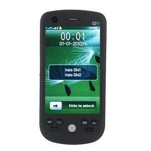 H802 Quad band FM Touch Screen Dual Sim Standby Cell Phone