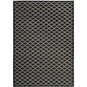 Safavieh Courtyard Collection CY6919 226 Black and Beige Indoor