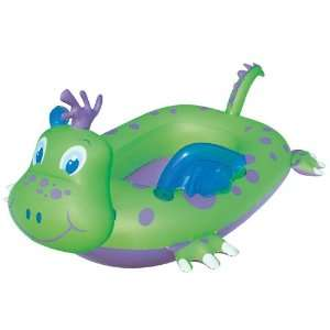 Friendly Dragon Ride in Pool Inflatable Boat   Green Toys